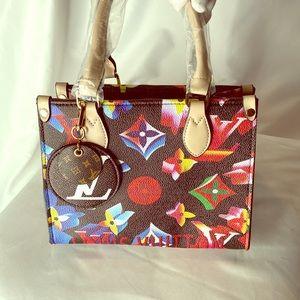 Handbags - Multi Color Small Handbag